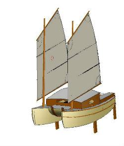 catamaran contreplaqué