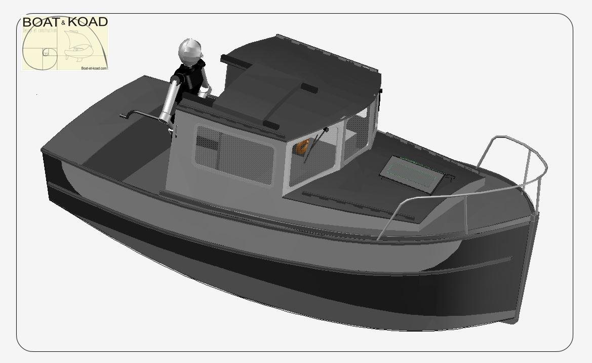 bateau à moteur